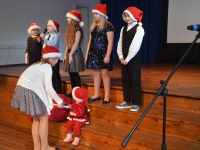 006 Jõuluaktus Sindi gümnaasiumis. Foto: Urmas Saard