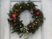 003 Jõululaupäeva jumalateenistus Raeküla Vanakooli keskuses. Foto: Urmas Saard