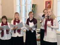 015 Jõululaupäeva jumalateenistus Raeküla Vanakooli keskuses. Foto: Urmas Saard