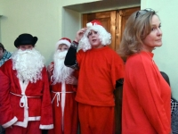 004 Jõulupidu Sindi gümnaasiumis. Foto: Urmas Saard