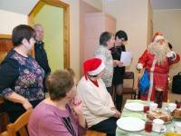 002 Jõuluvana Sindi sotsiaaltöökeskuses. Foto: Urmas Saard