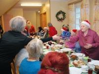 007 Jõuluvana Sindi sotsiaaltöökeskuses. Foto: Urmas Saard