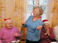 016 Jõuluvana Sindi sotsiaaltöökeskuses. Foto: Urmas Saard