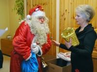 017 Jõuluvana Sindi sotsiaaltöökeskuses. Foto: Urmas Saard
