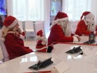 012 Jõuluvanade pressikonverents. Foto: Urmas Saard