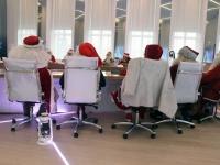 018 Jõuluvanade pressikonverents. Foto: Urmas Saard