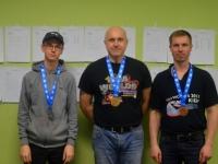 ES-24 üldarvestus vasakult: Andy Aron, Kaiar Tammeleht, Margus Jõgilaine. Foto: Karmen Mets