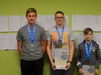 Open-12 juuniorid vasakult: Marko Suitsberg,Mikk Bauer, Rasmus Blitner. Foto: Karmen Mets