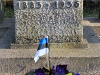 002 Julius Friedrich Seljamaa hauasammas Rahumäe kalmistul. Foto: Urmas Saard