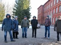 008 Julius Seljamaale mälestusmärgi asukoha määramise nõupidamises osalejad. Foto: Urmas Saard