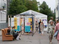 9 Kadriorus toimunud Kirjandustänava festivalil. Foto: Eesti Rahvusraamatukogu