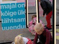 7 Kadriorus toimunud Kirjandustänava festivalil. Foto: Eesti Rahvusraamatukogu