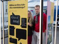 5 Kadriorus toimunud Kirjandustänava festivalil. Foto: Eesti Rahvusraamatukogu