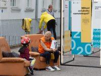 1 Kadriorus toimunud Kirjandustänava festivalil. Foto: Eesti Rahvusraamatukogu