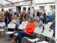 4 Kadriorus toimunud Kirjandustänava festivalil. Foto: Eesti Rahvusraamatukogu