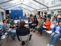 2 Kadriorus toimunud Kirjandustänava festivalil. Foto: Eesti Rahvusraamatukogu