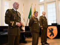 018 Kaitseliidu Pärnumaa malevas vahetusid pealikud. Foto: Urmas Saard