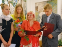 016 Karin Tislari isiknäitus Sindi muuseumis. Foto: Urmas Saard