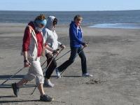 007 Kepikõndijad Pärnu rannas. Foto: Urmas Saard / Külauudised