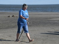 009 Kepikõndijad Pärnu rannas. Foto: Urmas Saard / Külauudised