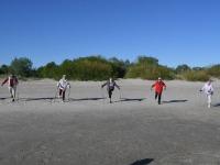 013 Kepikõndijad Pärnu rannas. Foto: Urmas Saard / Külauudised