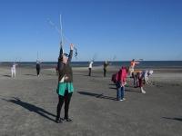 016 Kepikõndijad Pärnu rannas. Foto: Urmas Saard / Külauudised