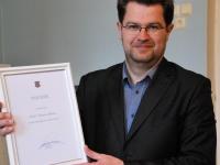 003 Siseministeeriumi auhind jõudis Sinti. Foto: Urmas Saard