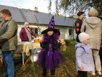 Kostüümipreemia laureaat Väike Nõid. Foto: Tapiku Külade Selts