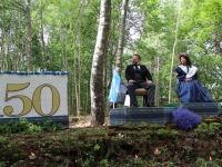C. R. Jakobson ja Lydia Koidula. Foto: Ilmar Kõverik
