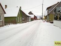 Tänav Raja külas Jõgevamaal. Foto: Jaan Lukas / Külauudised