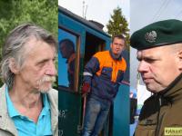 Eesti Muinsuskaitse Selts tunnustas Teenetemedaliga ka kolme Pärnumaa meest – Tõnu Kann, Timo Klaus ja Mehis Born. Fotokollaaž: Külauudised