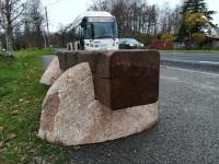 Levi istepink Sindi bussipeatustes. Foto: Urmas Saard / Külauudised