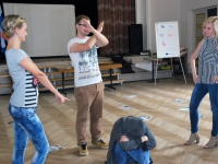 001 Kümne riigi osalusel toimuv koolitus Pärnu Nooruse majas. Foto: Urmas Saard