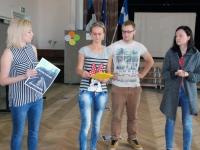 002 Kümne riigi osalusel toimuv koolitus Pärnu Nooruse majas. Foto: Urmas Saard