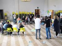 006 Kümne riigi osalusel toimuv koolitus Pärnu Nooruse majas. Foto: Urmas Saard