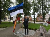 2 Küüditamise 79. aastapäeval Vievises. Foto: Urmas Saard / Külauudised