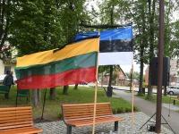 3  Küüditamise 79. aastapäeval Vievises. Foto: Urmas Saard / Külauudised