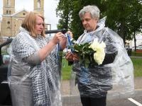 4 Küüditamise 79. aastapäeval Vievises. Foto: Urmas Saard / Külauudised