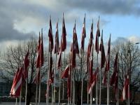 004 Läti Vabariigi 100. aastapäeva paraad Riias. Foto: Urmas Saard