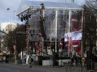 005 Läti Vabariigi 100. aastapäeva paraad Riias. Foto: Urmas Saard