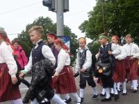 016 Laulupeo rongkäik ja pidu. Foto: Urmas Saard