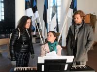 Leedulased muusikapäeval Toris ja Pärnus. Foto: Urmas Saard / Külauudised