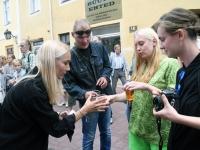 014 Liivatera ballaadi avamine Avangard Galeriis. Foto: Urmas Saard