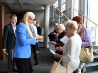 002 Linnapea kandidaadid Pärnu väärikate ees. Foto: Urmas Saard