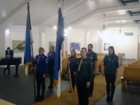 002 Lippude õnnistamine Viimsi Jakobi kirikus. Foto: erakogu