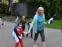Lipu päev 2021 Sindis. Foto: Urmas Saard / Külauudised