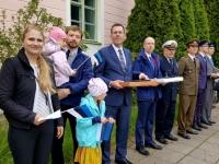 013 Lipu päeva tähistamine Kuberneri aias. Foto: Marko Šorin