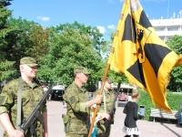 011 Lipu päeva tähistamine Rüütli platsil ja rongkäiguga. Foto: Urmas Saard