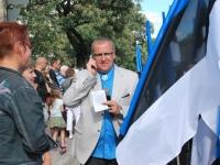 018 Lipu päeva tähistamine Rüütli platsil ja rongkäiguga. Foto: Urmas Saard