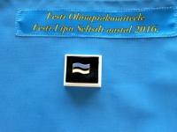 002 Eesti Olümpiakomiteele Eesti Lipu Seltsilt aastal 2016. Foto: Eesti Olümpiakomitee